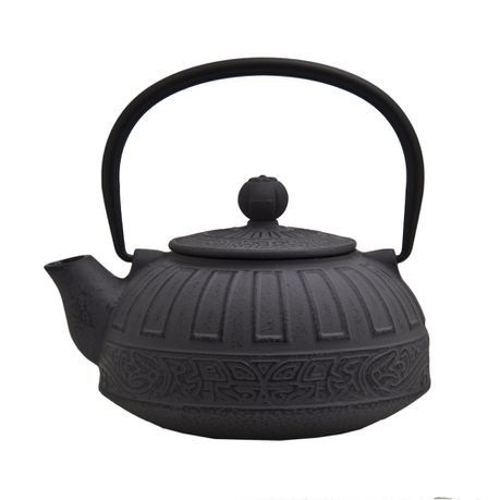 Regent - Cast Iron Chinese Teapot Grey 800ml