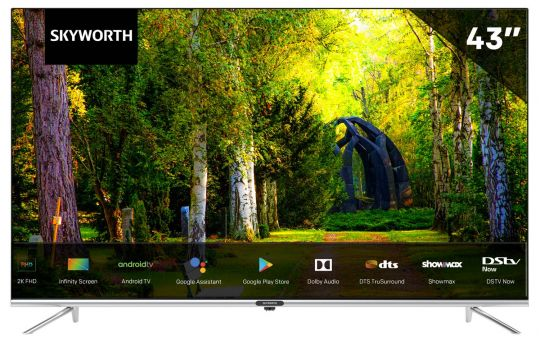 Skyworth - 43 inch Infinity Screen FHD Android TV