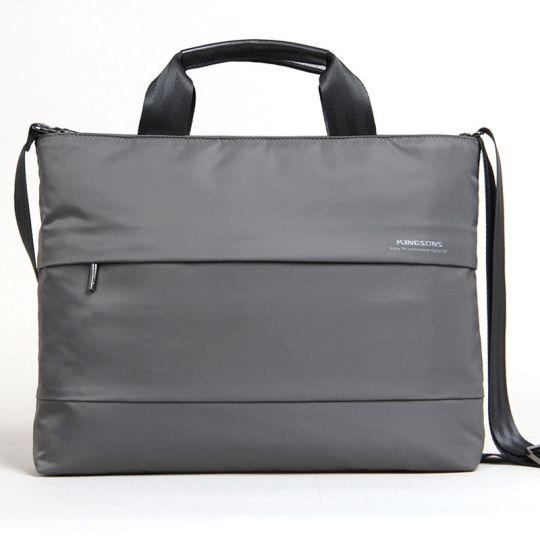 """Kingsons - 15.4"""" Charlotte Ladies Bag (Grey)"""