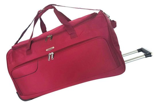 Tosca - Gold Ultralight Trolley Duffle (Red)