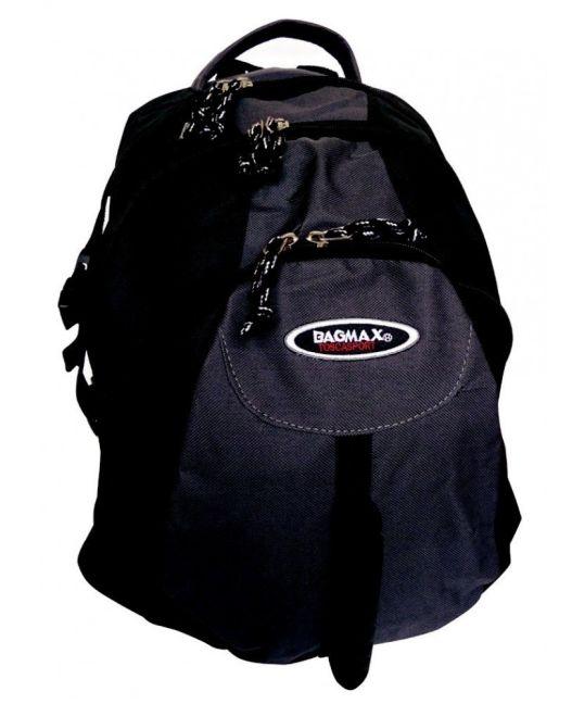 Bagmax - Large 3 Division Backpack (Black)