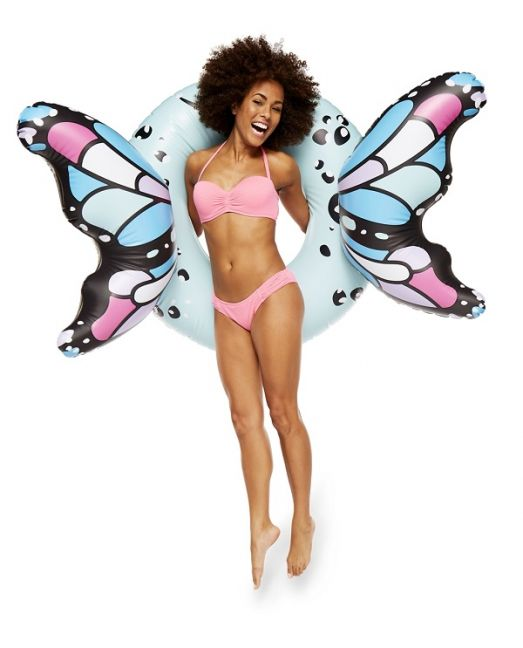 BigMouth - Butterfly Blue Wings Pool Float