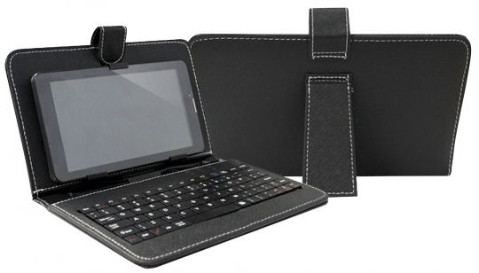 """Bounce - 7"""" Universal Tablet Cover With Keyboard"""