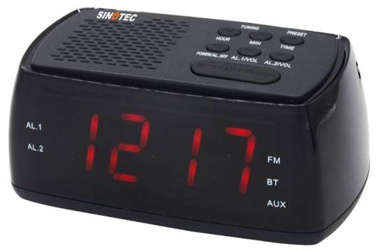 Sinotec - Bluetooth Clock Radio