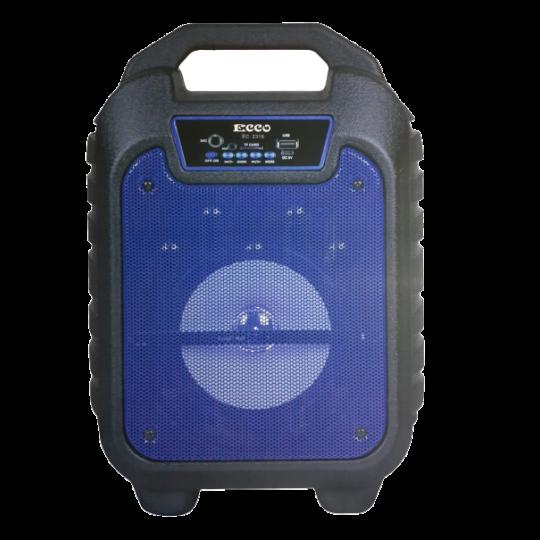 ECCO - 6.5 Inch Portable Speaker Blue