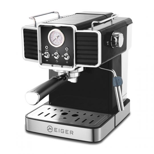 Eiger - Romeo 2 Cup Espresso Machine with Milk Frother