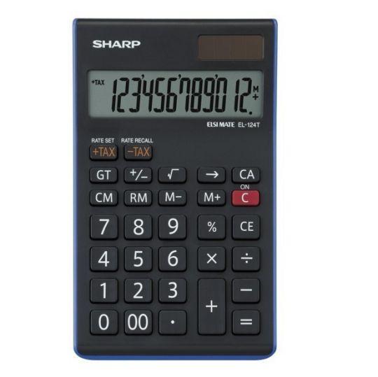 Sharp - EL-124T Desk Calculator