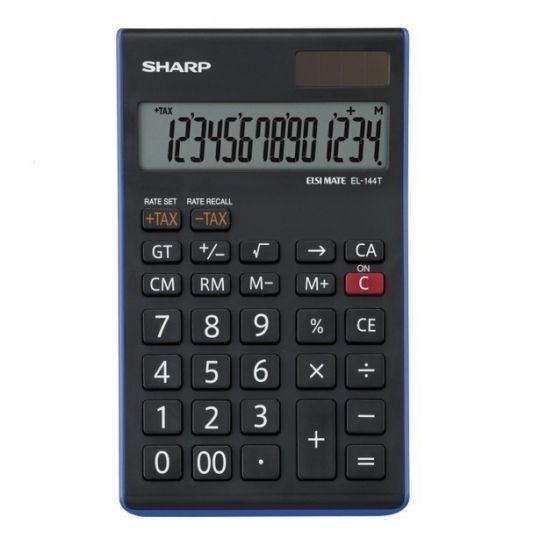 Sharp - EL144T Desk Calculator