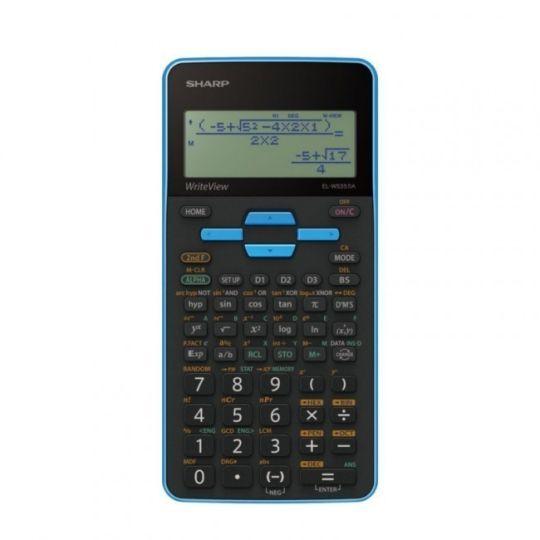 Sharp - EL535 Scientific Calculator (Blue)