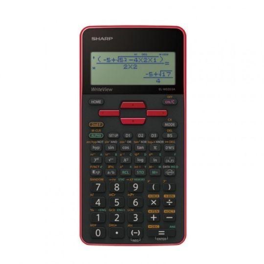 Sharp - EL535 Scientific Calculator (Red)