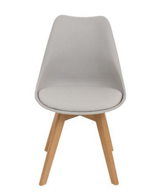 Mad Chair - Replica Eames DSW With Padded Seat - Dark Grey