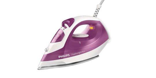 Philips - Featherlight Plus Steam Iron Ns-1400w Pink