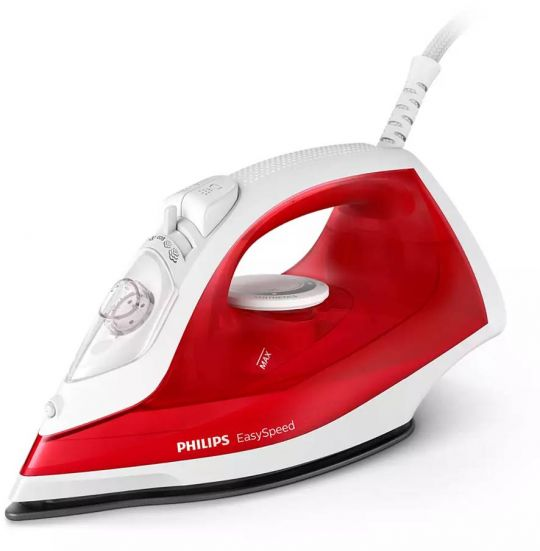 Philips -  Easyspeed Steam Iron - Ns - As - 2000w Red