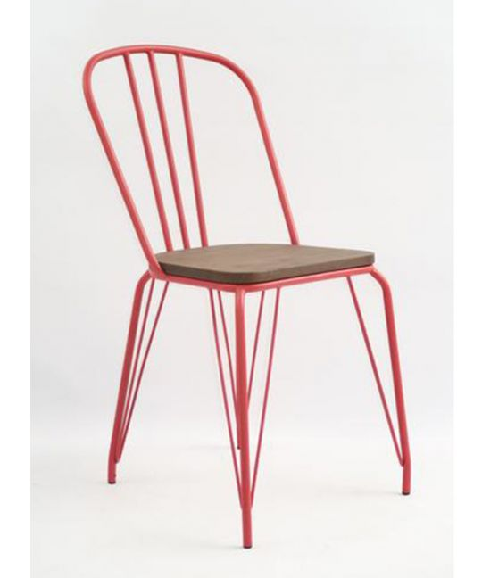 Mad Chair - Replica Hairpin Chair - Red