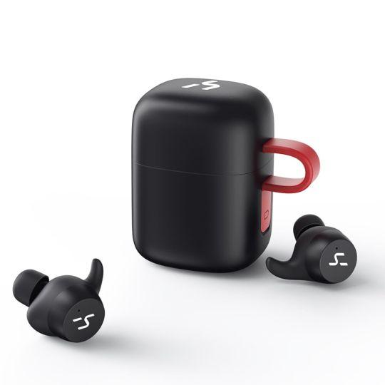 HAKII -  G1PRO Truly Wireless Sport Bluetooth Earphones - Black & Red