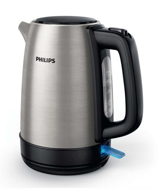 Philips - Daily Collection Kettle Brushed Silver