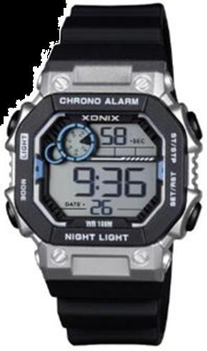 Xonix - IQ-006 Men's Digital Silver