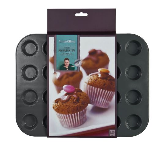 Jamie Oliver - Mini Muffin Tray 24 Holes