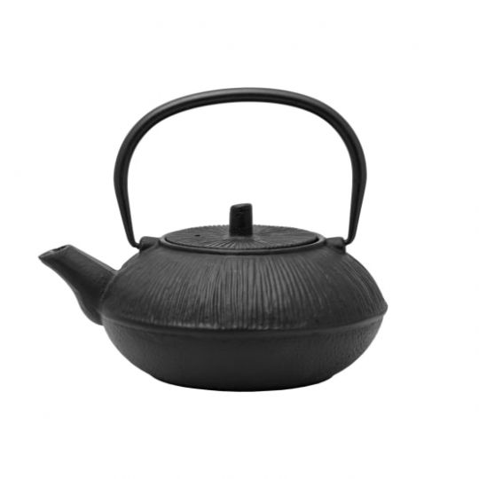 Regent - Cast Iron Chinese Teapot Black 850ml