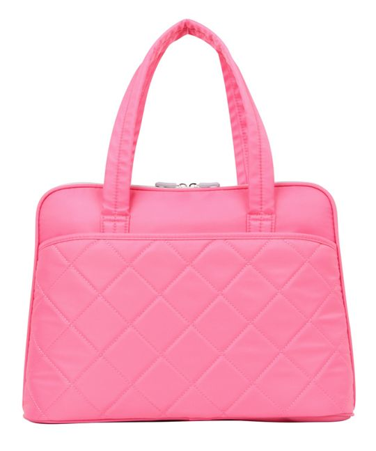 """Kingsons - 15.6"""" pink shoulder laptop bag"""