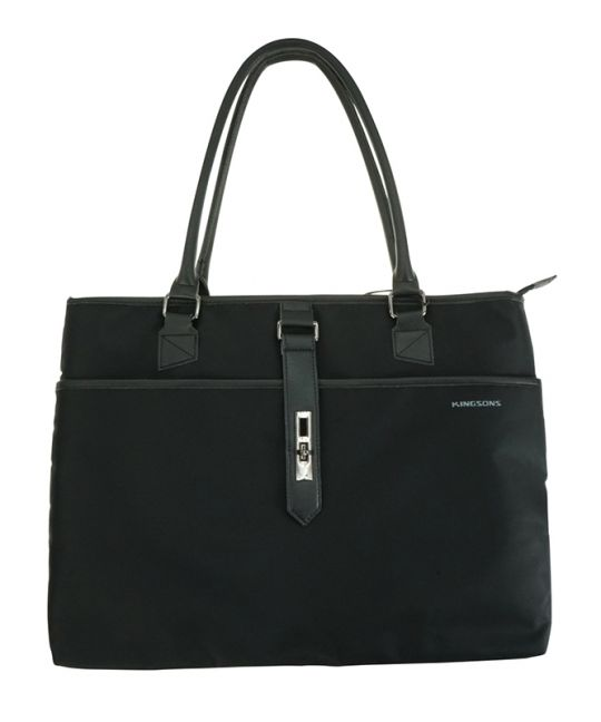 """Kingsons - 15.6"""" Ladies bag Bella Series Black"""