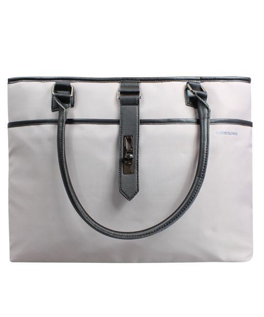 """Kingsons - 15.6"""" Ladies bag Bella Series Grey"""