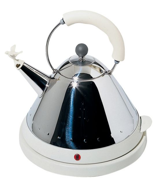 Alessi - Graves Kettle white
