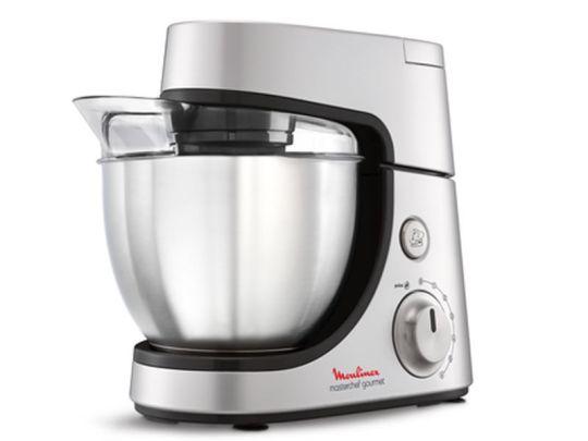 Moulinex - Kitchen Machine Masterchef Gourmet 4,6L Silver 1100W