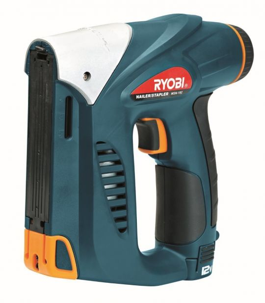 Ryobi - Cordless Nailer / Stapler, 12V Maglithion