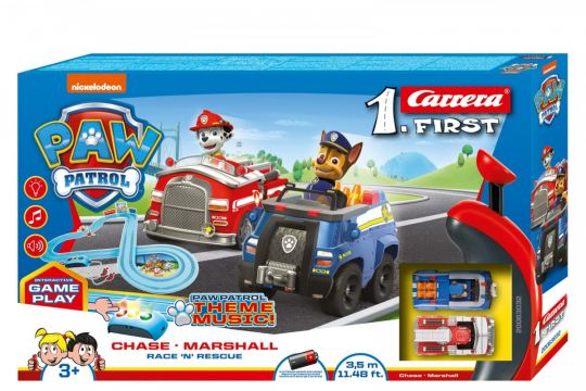 Carrera - First Paw Patrol Race 'n Rescue Set 3.5m
