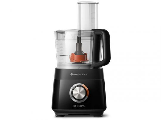 Philips - 700W Daily Collection Compact Food Processor - Black