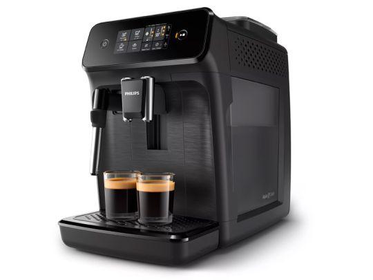 Philips - Omnia Series 1000 Fully Automatic Espresso Machine - Black