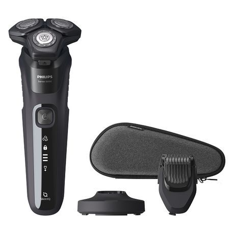 Philips - 5000 Series Wet and Dry Electric Shaver PU Trim/Smartcare