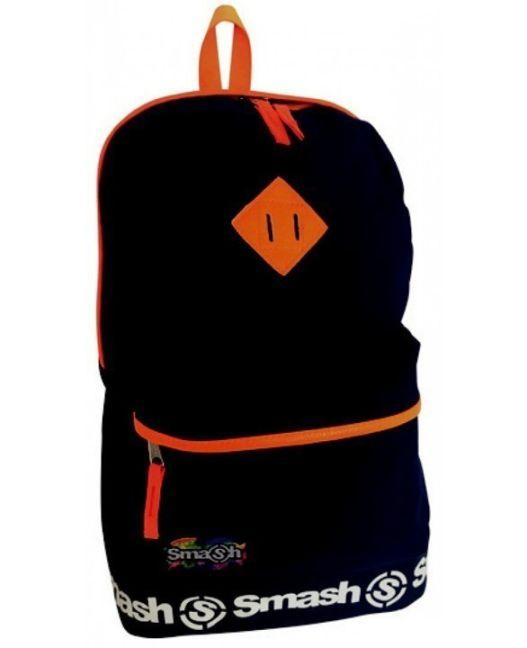 Smash - Neon PVC Trim 2 Pocket Backpack (Royal Blue)