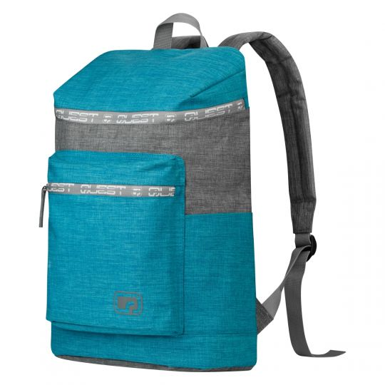 Quest - Top Loader Backpack Aqua / Grey