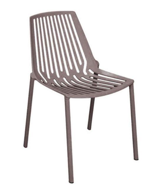 Mad Chair - Horizontal Side Chair - Grey