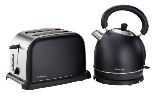 Russell Hobbs - RHBP55 RH Black Breakfast Pack