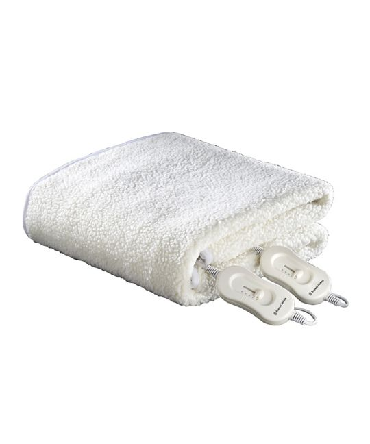 Russell Hobbs - Double Fleecy Electric Blanket (White)
