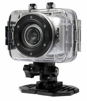 Rocka - Edge Series HD Action Camera (Silver)