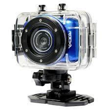 Rocka - D'Light Series 720P Action Camera (Blue)