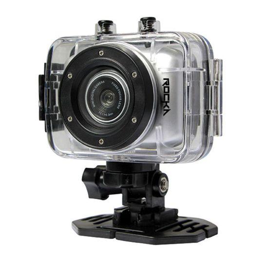 Rocka - D'Light Series 720P Action Camera (Silver)