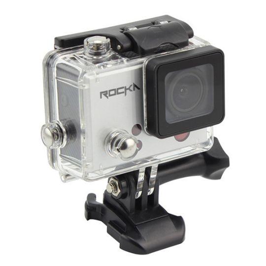 Rocka - Vogue Series 4K Action Camera (Silver)