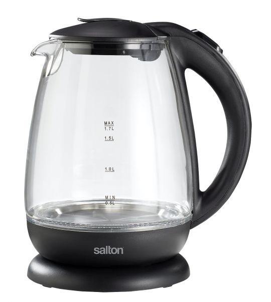 Salton - SCGK60E Cordless Glass Kettle