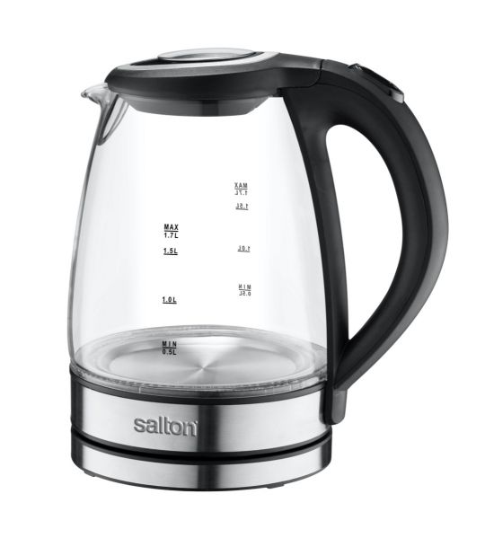 Salton - SCGK80E Cordless Glass Kettle