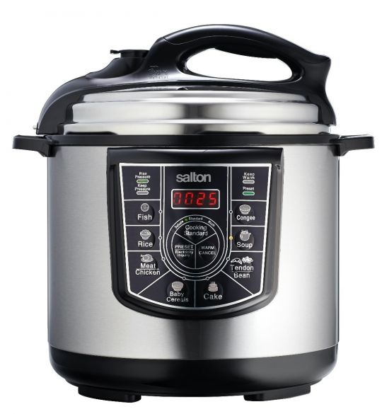 Salton - SEPC01 Salton Electric Pressure Cooker