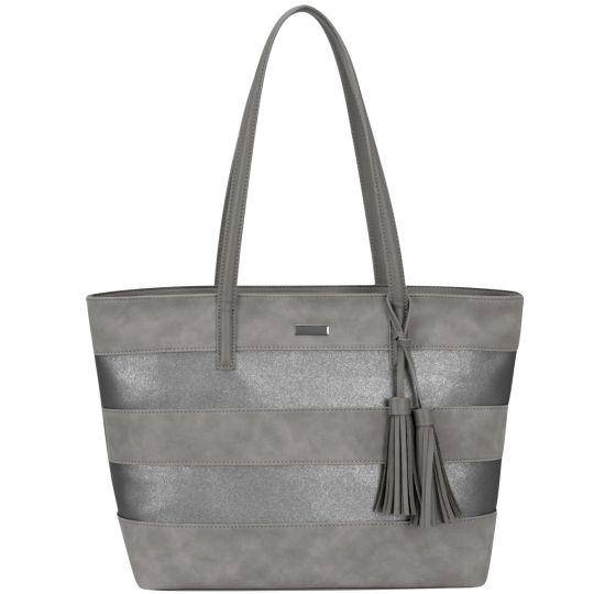 Supanova - Tassles Ladies Laptop Bag Dk Grey