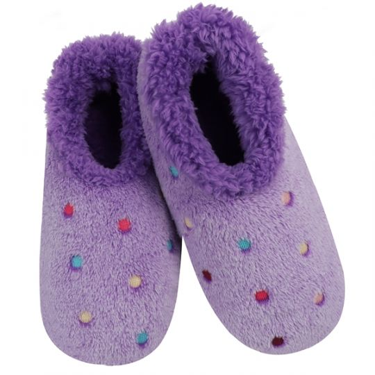 snoozies - Lotsa Dots Purple