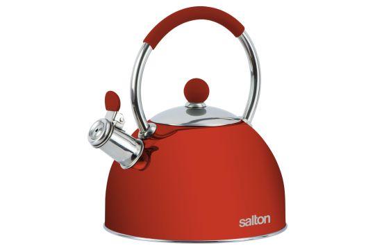 Salton - SSTK2.5 Whisltling Stove Top Kettle Red