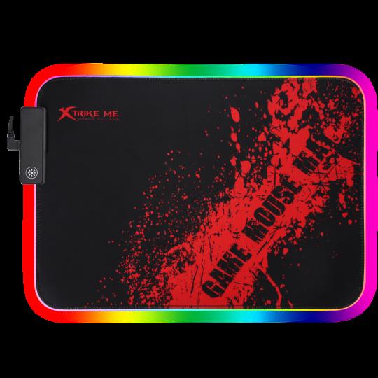 XTRIKE - RGB Backlit Mousepad Microfibre 350 x 250 x3MM