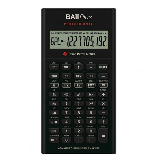 Texas Instruments - BA ii Plus Professional